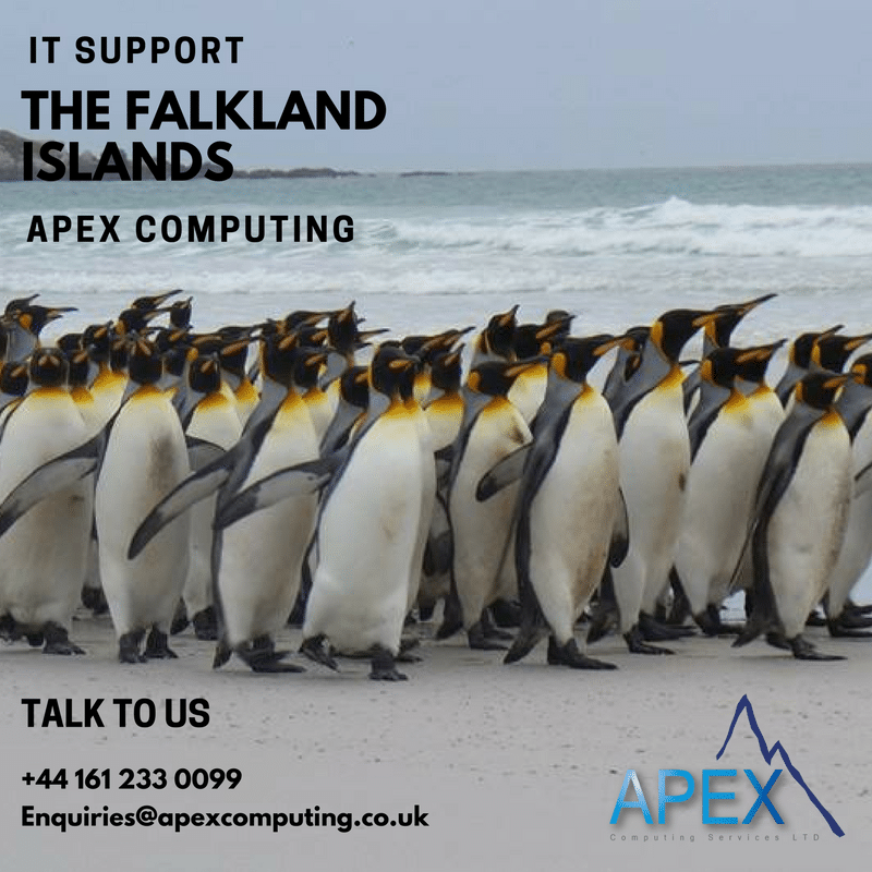 We are now proud to say that we support three businesses in the Falklands.